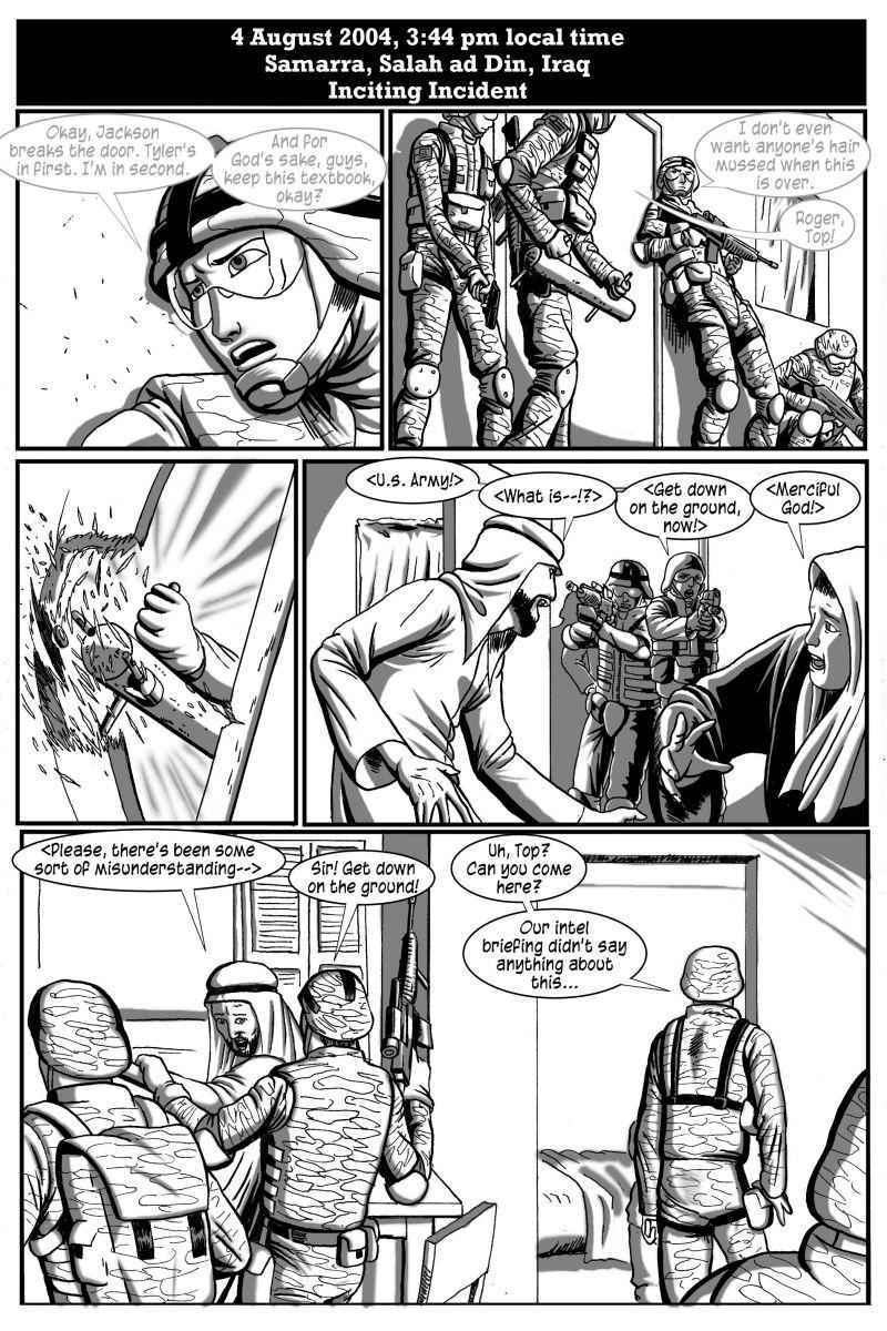 No Survivors, page 3