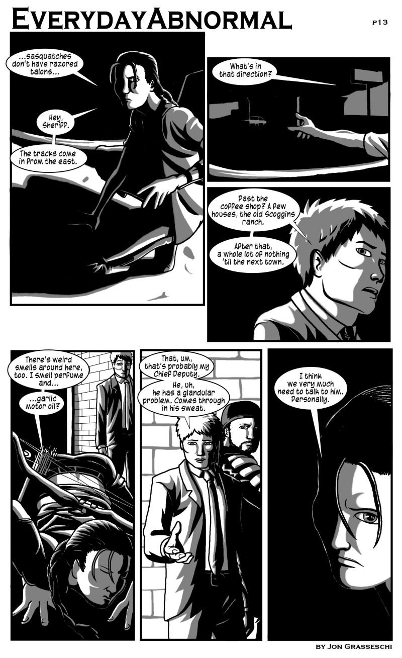 Out From Under Me, page 13