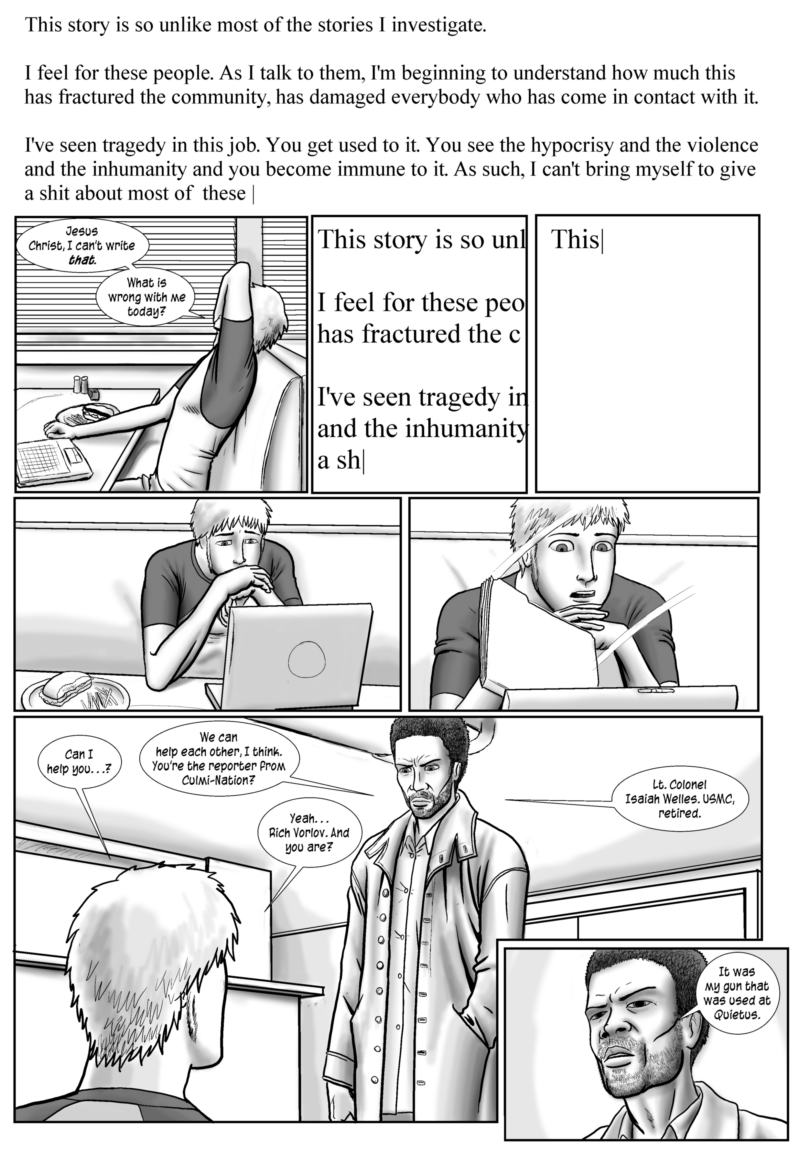 Drowning in the Wake, page 16