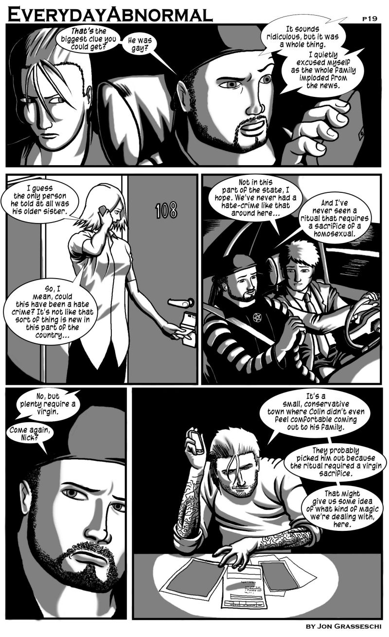 Out From Under Me, page 19
