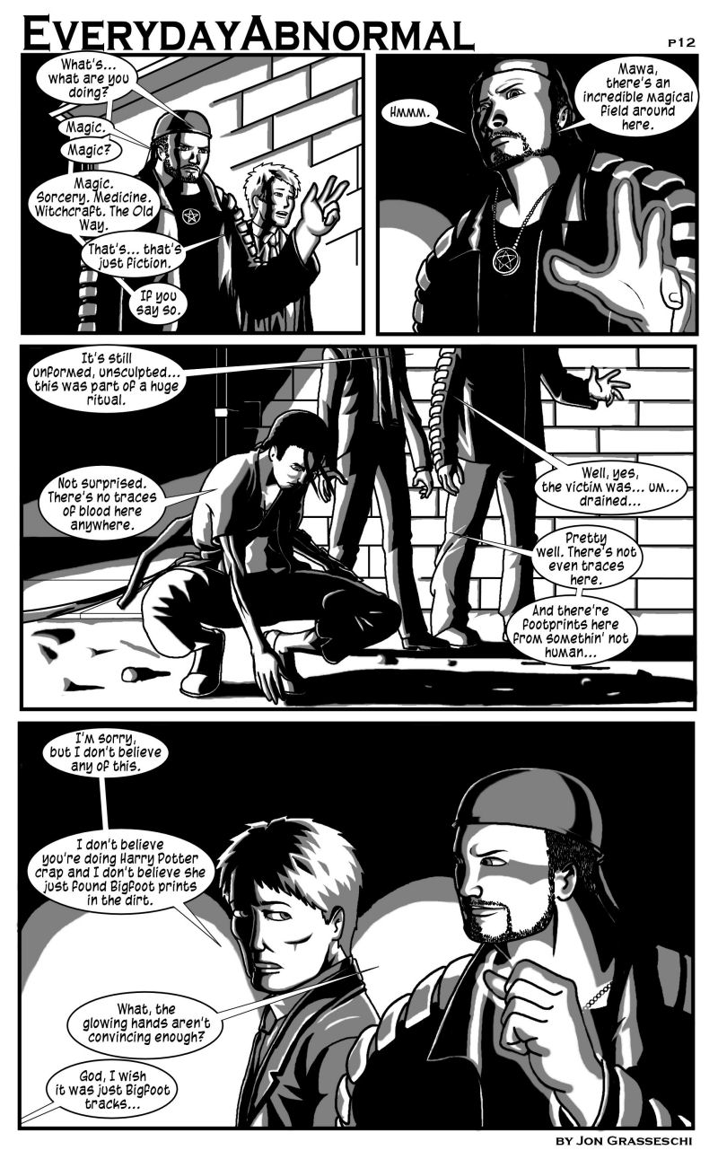 Out From Under Me, page 12